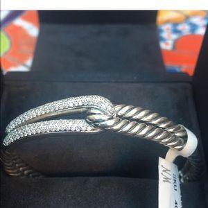 David Yurman Single-Loop  Labyrinth bracelet.